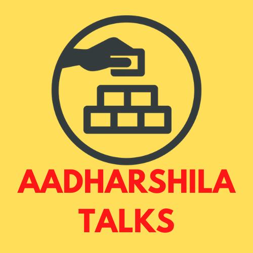 Aadharshila Talks at RRIS logo
