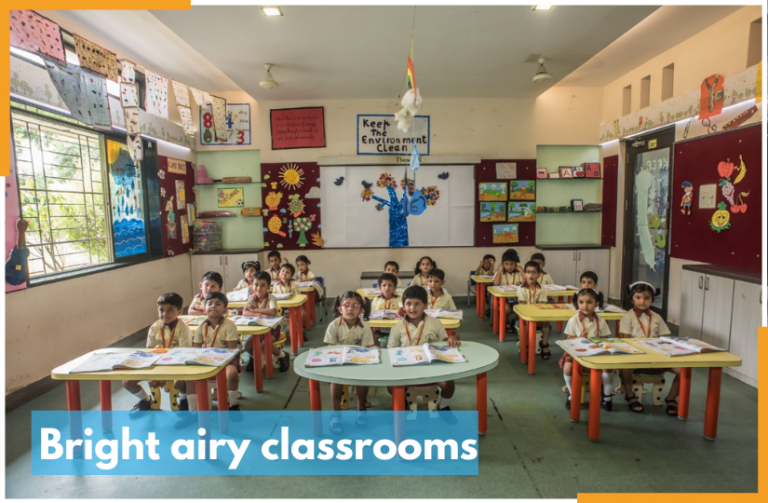 Bright airy classrooms at RRIS 825 x 540