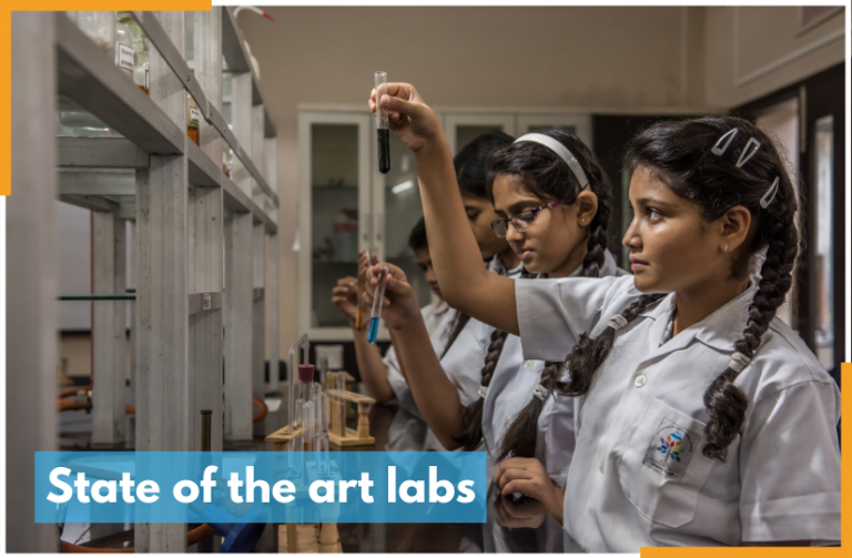 State of the art labs at RRIS 825 x 540