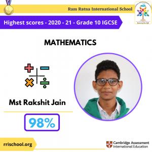 Maths Topper IGCSE 2021