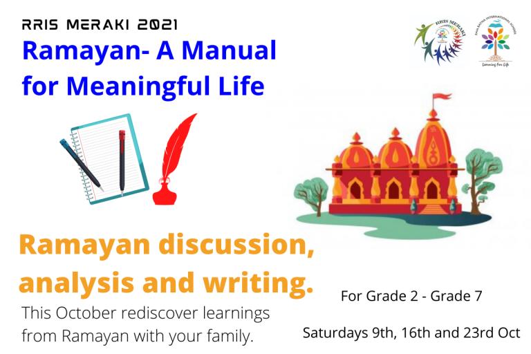 Ramayan- A Manual for Meaningful Life 5
